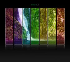 Colour Waterfall by johnstonnet