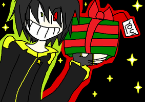 Cyr Gives You A Present by xCheshire-Rabbitx