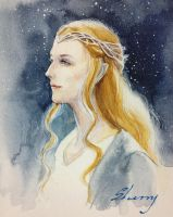 my lady Galadriel by ladysherry
