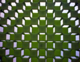 Stock Texture - Green Lattice by rockgem