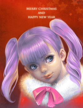 Merry Christmas and Happy New Year 2014 by HlYA