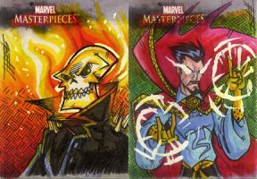 MM3 AP ghostrider dr strange by natelovett