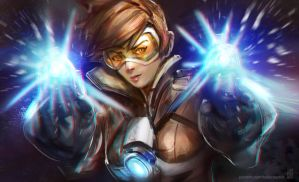 Overwatch - Tracer by Taylor-payton