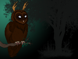 Adair the Owl by ectomint