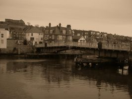 Whitby bridge by GothicKitzzy