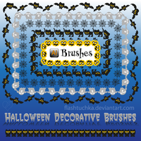 Ai Brushes, Halloween by flashtuchka