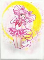 Sailor Chibimoon re-edit cover by Aino-Fred