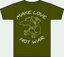 MAKE LOVE NOT WAR by suumcuique