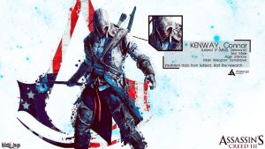 Assassin's Creed III Connor Wallpaper by Yoshi612