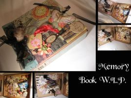 Memory Box Collage by Dellessanna