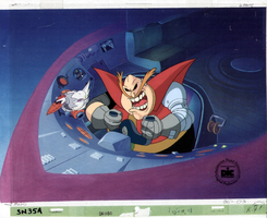 SatAM Cel - Robotnik (From lost intro) by The-SatAM-Zone