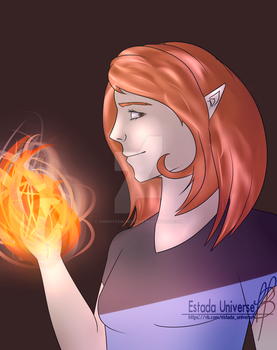 Art Trade with Astron-Astra on Deviant Art by TheEstadaUniverse