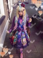 Cardiff film and comicon Lolita coord by NVanity