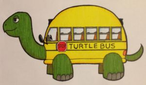 Turtle Bus by SuperAelita
