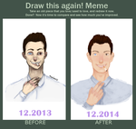 draw this again meme - Bad boy by GRAVITYCENTRE