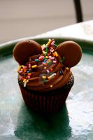 Mickey Cupcake by theSugarmonger