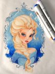 Queen Elsa by Shimakotodo