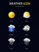weather icon 2009 by inwaterzeng