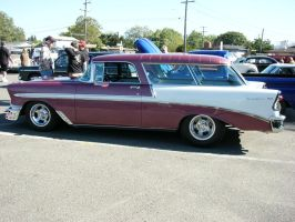 Let The Good Times Roll - 1956 Chevrolet Nomad by RoadTripDog