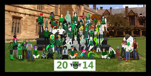 TMNT-U Class Photo 2014 by TMNT-Raph-fan