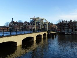 Amsterdam - Skinny Bridge by PhilsPictures