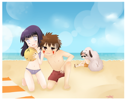 Team 8 at the beach by red-X-snow