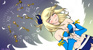 Lucy and her keys by Yuki-Hime13