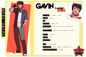 SSA: Gavin Rios by jackettt