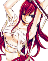 Fairy Tail Erza Render by Feary-Bad-Day