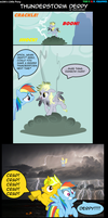 m3At's LP: Thunderstorm Derpy by m3Atl0afman