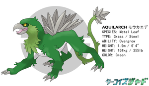 Turquoise-Jade - Aquilarch by RacieB