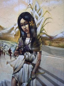 Mexica Girl by GraffMX