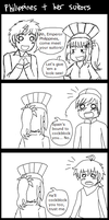 (COMIC) Philippines + her suitors by melondramatics