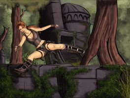Lara Croft Art 3 by typeATS