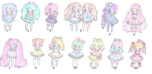 cute lolita adopts CLOSED by PikoRuu
