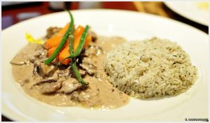 Beef Zurichsee Style with Garlic Rice by edwin1303