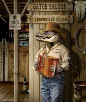 Gator Saloon by funkwood