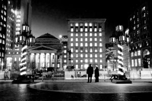 Place d'Armes, Montreal by logikb