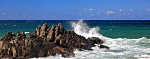 Cape Conran Rocks by Okavanga