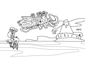 My Storyboard PDF project - Zig and Sharko Intro by Magic-Kristina-KW