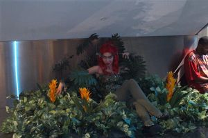 Poison Ivy with Her Plants by LovedPurpleAngelWife