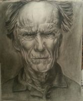Clint Eastwood by Inkflair