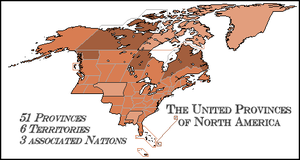 United Provinces of North America by FederalRepublic