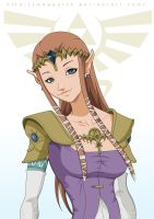 Princess Zelda by Maggotx9