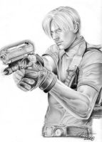 Leon S. Kennedy from RE 4 by Anne86