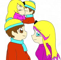 Nouth Park and South Park love by AskLiza1