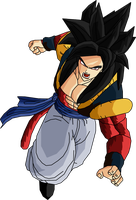 Real Gogeta SSJ4 by RobertoVile