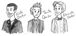 MY GUYS. -Doctor Who- by MusicalFire