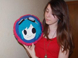 scott pilgrim Ramona's pillow by alinsa