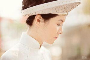 Vietnamese bride by alwayslovesunshine